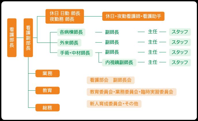 看護部の組織図